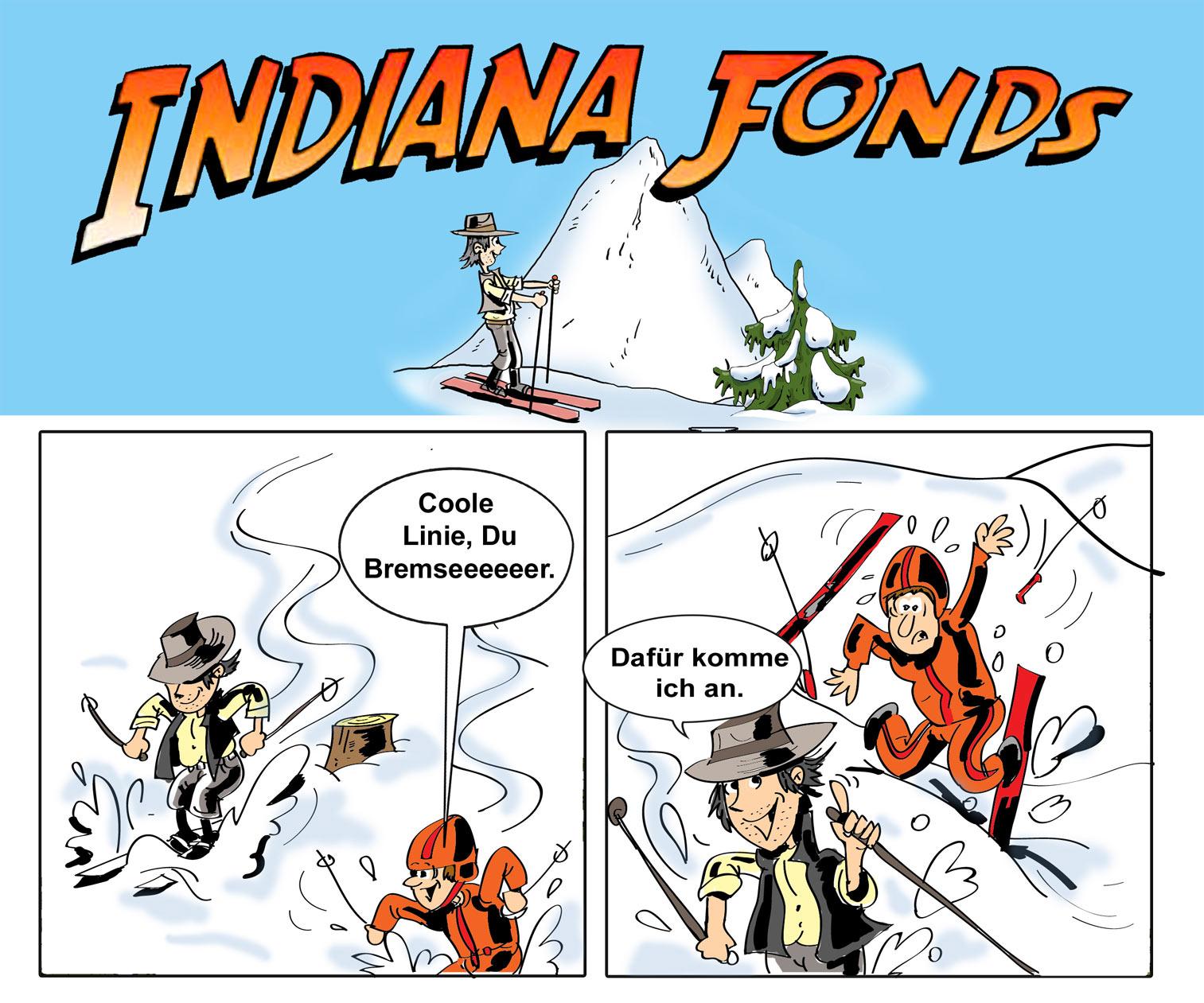 Cartoon - Indiana-Fonds