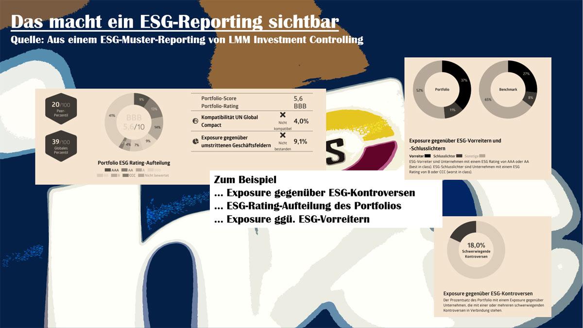 Das Thema Was ein ESG-Reporting sichtbar macht